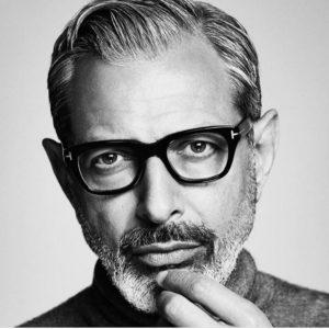 #jeffgoldblum et son incroyable collection de lunettes! Ici avec la fantastique collection #tomfordeyewear …son…