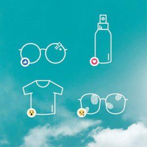 Quelle est votre façon préférée de nettoyer vos lunettes ? Grâce aux verres X-tra…