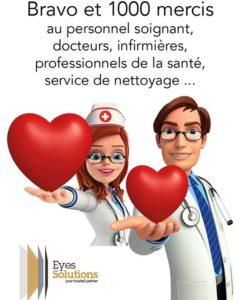 Journée internationale du personnel infirmier #corona #covid19 #reconnaissant #merci #santé #eyewear #optique #grenezoptique #frasneslesbuissenal